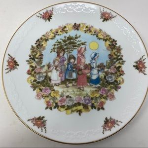 Franklin Porcelain The Old Almanac June Plate